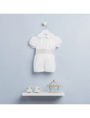 Conjunto niño bautizo bebe AMAYA BABY modelo 22300 arras, ceremonia, fiesta y bautizo spring 2017 Alpi Moda infantil Valladolid