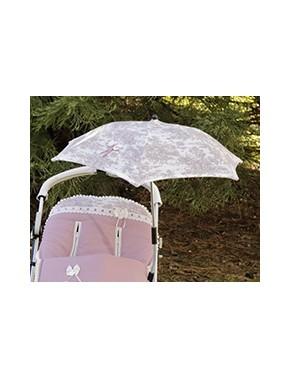 Sombrilla universal para silla de paseo y capazo modelo 780 de Bordados Dominguez en Alpinet Moda Infantil Valladolid