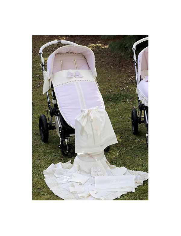 Saco universal para silla de paseo modelo 790 de Bordados Dominguez en Alpinet Moda Infantil Valladolid