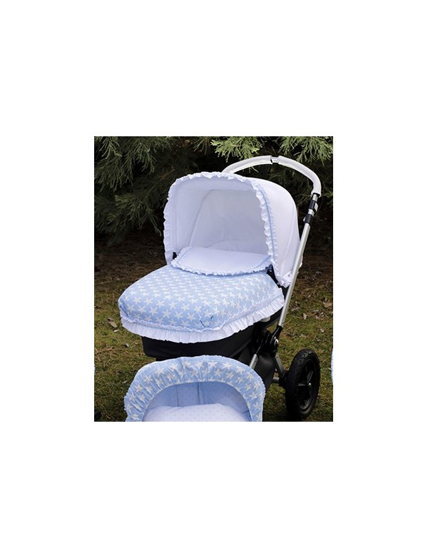 Capota extensible silla de paseo y capazo bebe colección 741 Bordados Dominguez, Alpinet