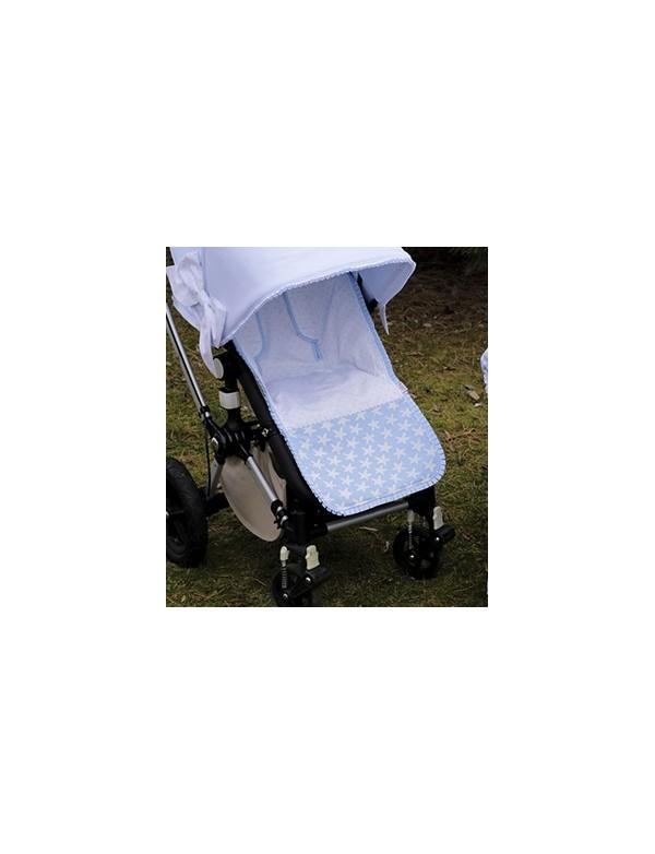 Colchoneta para silla paseo universal modelo 741 Bordados Dominguez, Alpinet
