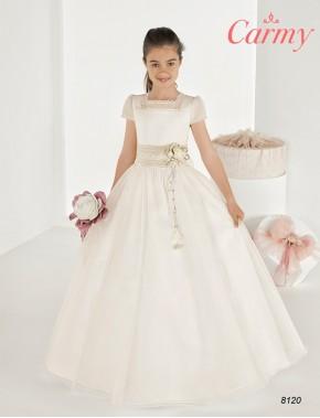 Vestido comunión niña, CARMY , modelo 8120