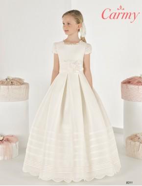 Vestido comunión niña, CARMY , modelo 8311