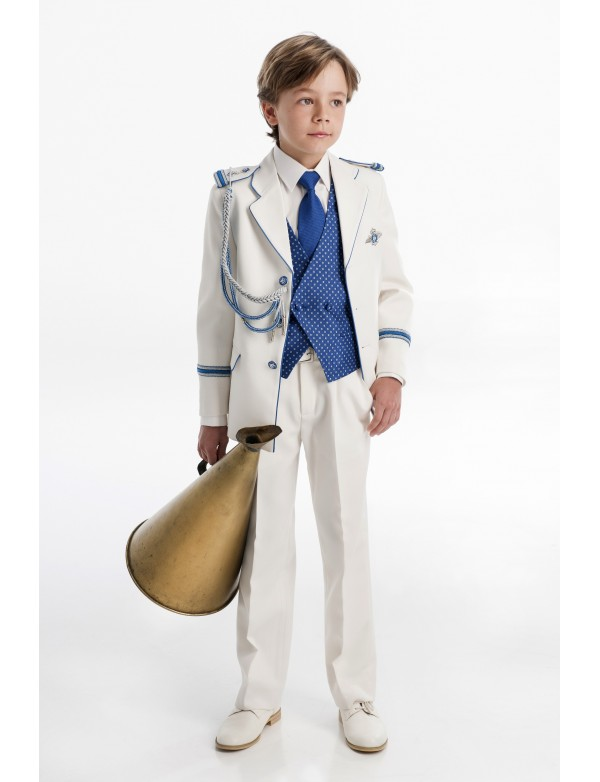 Traje de comunión niño de Almirante, VARONES, modelo 2051, ALPI Moda Infantil (Valladolid)