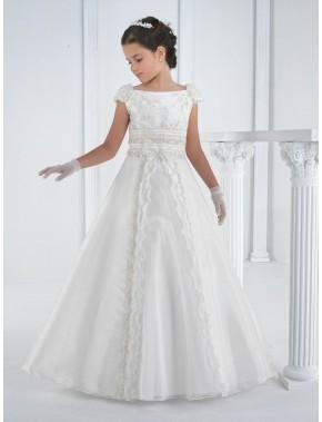 Vestido comunión niña, CARMY , modelo 4412
