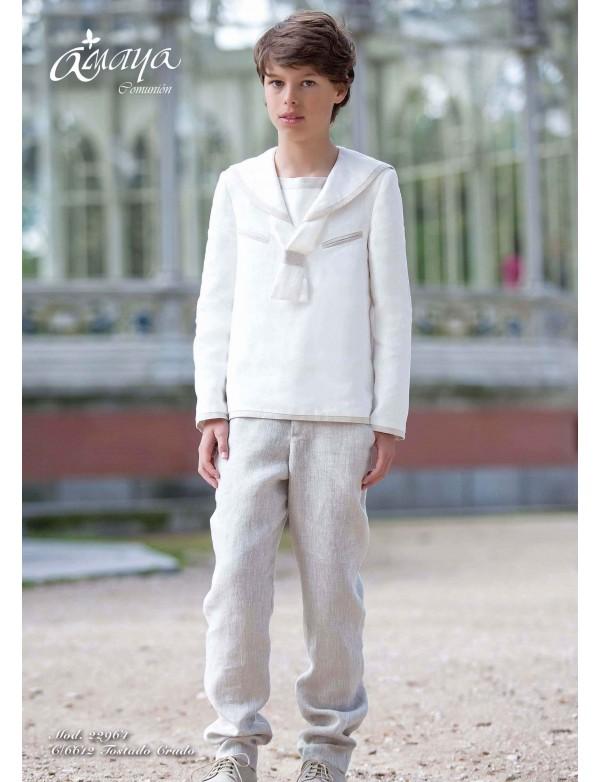 Traje de comunión niño 2017, AMAYA, modelo 22964F, ALPI Moda Infantil (Valladolid)