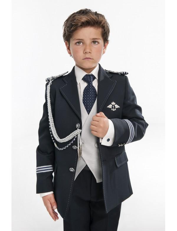 Traje de comunión niño de Almirante, VARONES, modelo 2053, ALPI Moda Infantil (Valladolid)