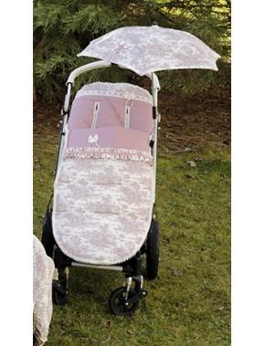Saco universal para silla de paseo modelo 780 de Bordados Dominguez en Alpinet Moda Infantil Valladolid