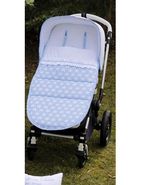 Saco universal para silla de paseo modelo 741 estrella de Bordados Dominguez en Alpinet Moda Infantil Valladolid