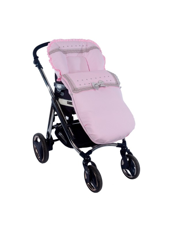 Saco para silla universal de paseo modelo Holly de Nubeluna Alpinet Moda Infantil Valladolid