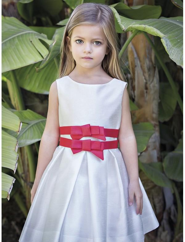 Vestido de arras ceremonia fiesta de niña, AMAYA 2018 NUEVA COLECCIÓN, modelo 111480