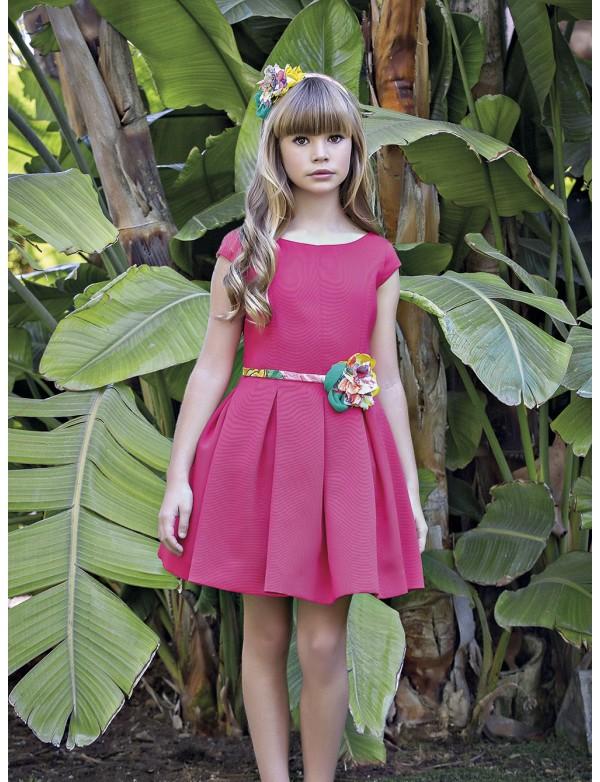 Vestido de arras ceremonia fiesta de niña, AMAYA 2018 NUEVA COLECCIÓN, modelo 111760