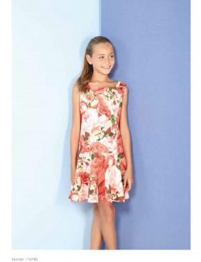 Vestido de arras ceremonia fiesta de niña, AMAYA 2018 NUEVA COLECCIÓN Spring Summer , modelo 110780