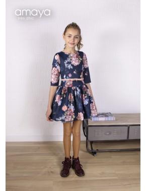 Vestido de arras ceremonia fiesta de niña, AMAYA 2018 NUEVA COLECCIÓN, modelo 111761