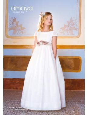 Prendedor para vestido comunión niña, AMAYA, modelo 311900P, ALPI Moda Infantil (Valladolid)