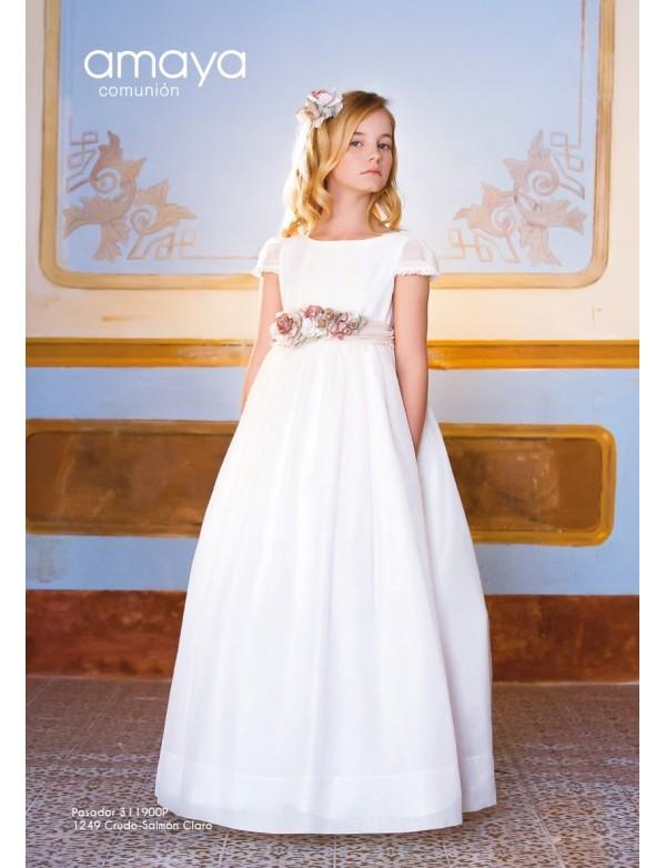 diferentemente compra especial nueva lanzamiento Prendedor para vestido comunión niña, AMAYA, modelo 311900P, ALPI Moda  Infantil (Valladolid)