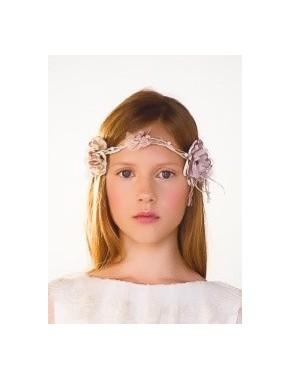 Tocado corona comunión niña, AMAYA, modelo 311935C, ALPI Moda Infantil (Valladolid)