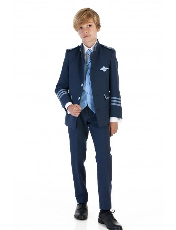 Traje de comunión niño de Almirante, VARONES, modelo 2063, ALPI Moda Infantil (Valladolid)