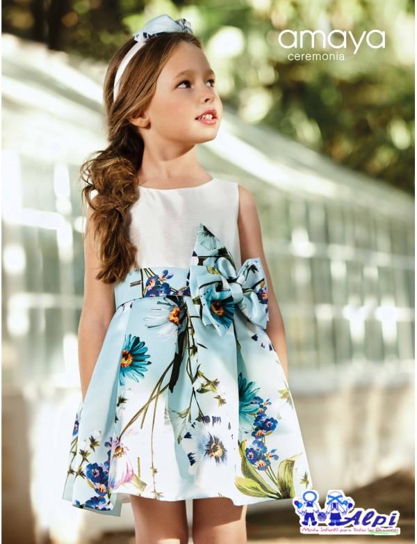 b1f0ac4d9cd1b Vestido de niña de arras ceremonia fiesta