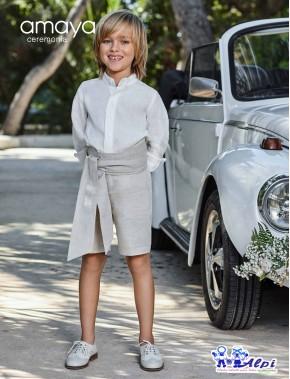 Conjunto traje niño ceremonia arras fiesta nueva colección 2019, AMAYA modelo 311599