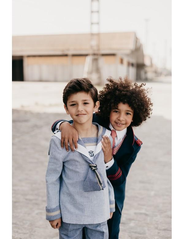 Traje de primera comunión niño de marinero, VARONES, modelo 110, ALPI Moda Infantil (Valladolid)