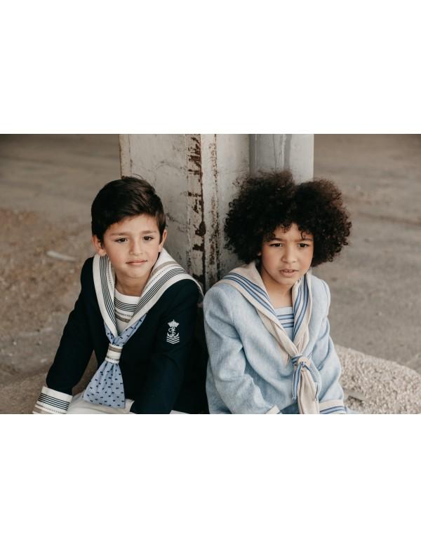 Traje de primera comunión niño de marinero, VARONES, modelo 151, ALPI Moda Infantil (Valladolid)