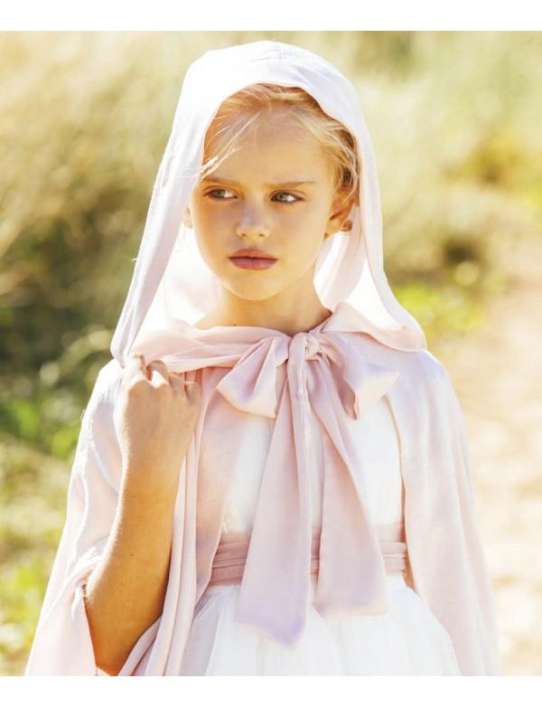 Capa para vestido niña de arras ceremonia fiesta, Artesanía AMAYA 2020 COLECCIÓN, modelo 513067H Alpi Monda Infantil Valladolid