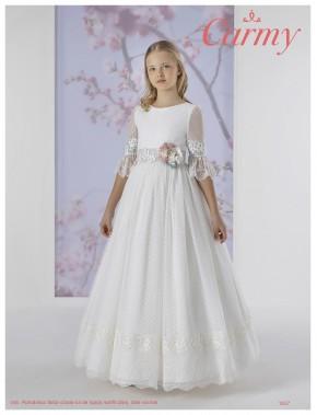 Vestido comunión niña, CARMY , modelo 1637 Modas Alpi Moda Infantil (Valladolid)