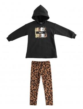 IDO conjunto ropa niña invierno modelo 43998 en Alpi Moda Infantil Valladolid, alpinet.es compra online
