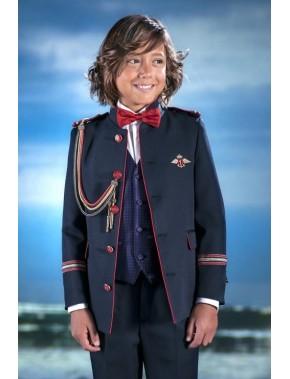 Traje de comunión niño 2016 Almirante de VARONES, modelo Pacha Blanco.