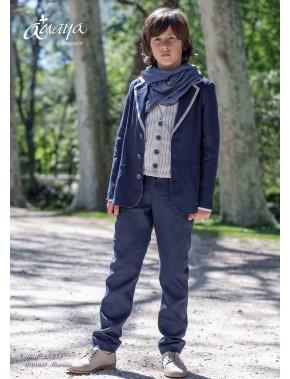 Traje de comunión niño 2017, AMAYA, modelo 22952F, ALPI Moda Infantil (Valladolid)