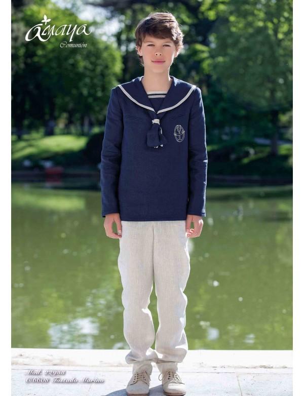 Traje de comunión niño 2017, AMAYA, modelo 22953F, ALPI Moda Infantil (Valladolid)