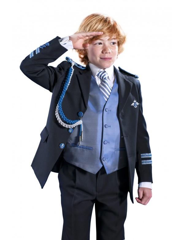 Traje de comunión niño almirante, VARONES, modelo 2034, ALPI Moda Infantil (Valladolid)