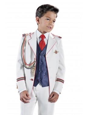 Traje de comunión niño almirante, VARONES, modelo 2040, ALPI Moda Infantil (Valladolid)
