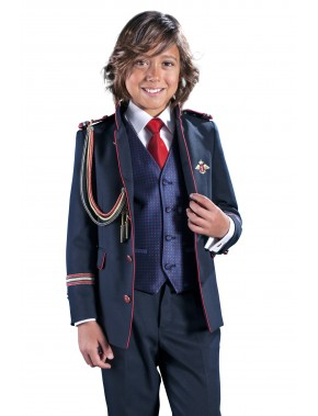 Traje de comunión niño almirante, VARONES, modelo 2041, ALPI Moda Infantil (Valladolid)
