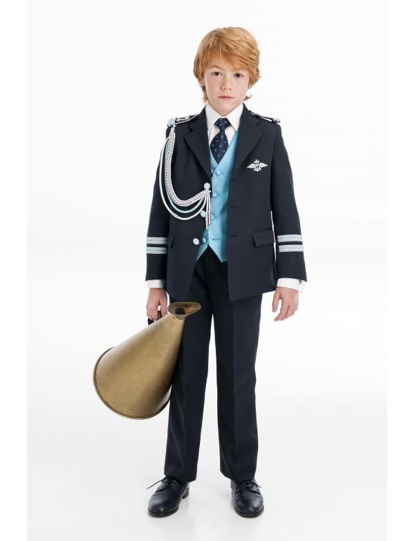 Traje de comunión niño de Almirante, VARONES, modelo 2046, ALPI Moda Infantil (Valladolid)